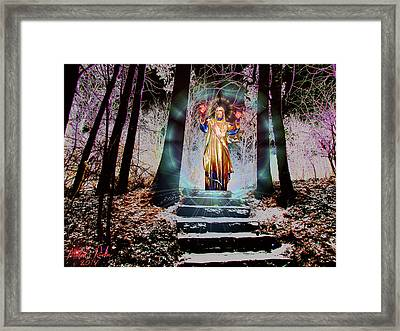 Stairway To Heaven Framed Print by Michael Rucker