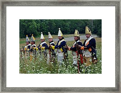Standing Firm Framed Print by William Coffey