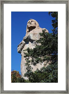 Standing Watch Framed Print by Bruce Bley