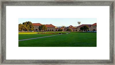 Stanford University Campus, Palo Alto Framed Print by Panoramic Images