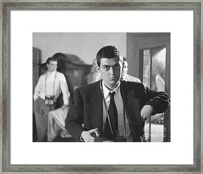 Stanley Kubrick 1949 Framed Print by The Harrington Collection