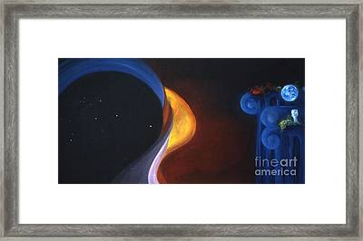 Star Ship Aquarius Framed Print