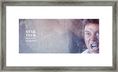 Star Trek Original Series Kirk Khan Framed Print