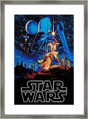 Star Wars Framed Print by Farhad Tamim