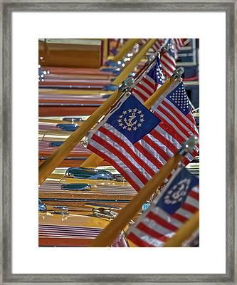 Stars And Stripes Framed Print by Steven Lapkin