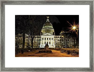 State Capitol Framed Print