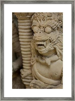 Statue - Bali Framed Print