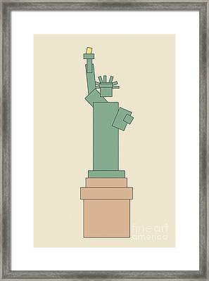 Statue Of Liberty Framed Print by Igor Kislev