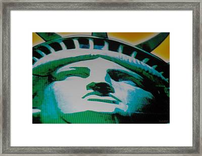 Statue Of Liberty  Framed Print by Rob Hans