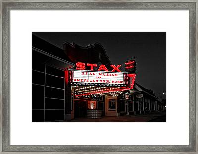 Stax Museum Of American Soul Music Framed Print by Mountain Dreams