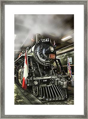 Steam Locomotive 2141 Framed Print