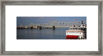 Steamboat Belle Of Louisville In Ohio Framed Print