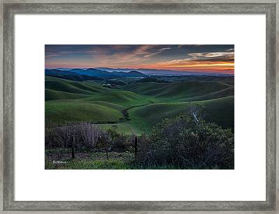 Steinbeck Country  Framed Print
