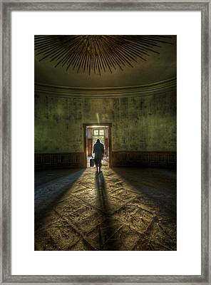 Step Into The Light Framed Print by Nathan Wright