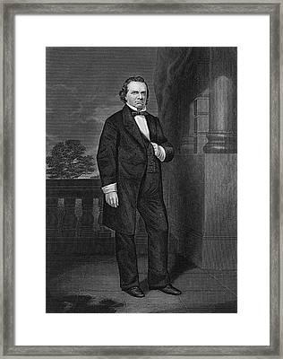Stephen Douglas (1813-1861) Framed Print by Granger