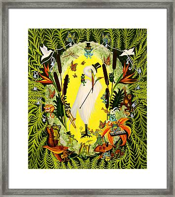 Steppin Out Framed Print by Adele Moscaritolo