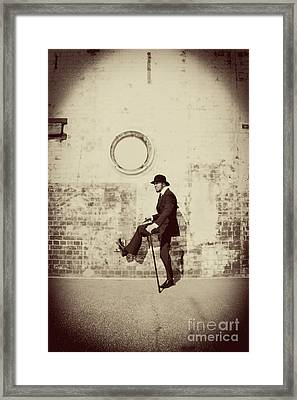 Stepping Into The Past Framed Print by Jorgo Photography - Wall Art Gallery