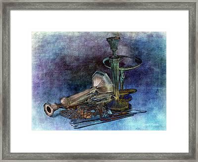 Sterling Silver Framed Print by Gunter Nezhoda