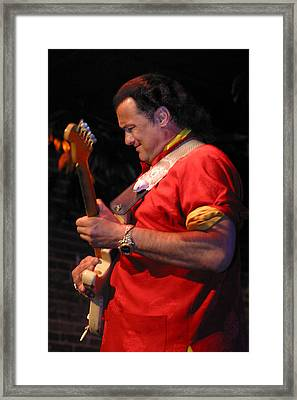 Steven Seagal Framed Print by Don Olea