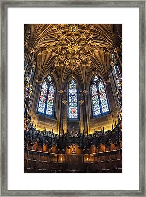 St.giles Cathedral Framed Print by Svetlana Sewell