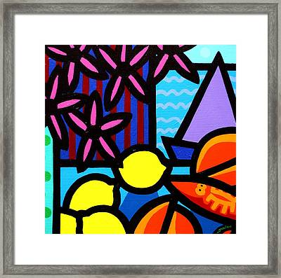Still Life At Window IIi Framed Print