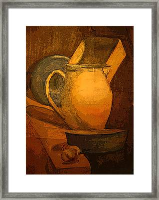 Still Life Framed Print by Jolanta Erlate