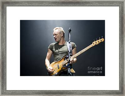 Sting Of The Police  Framed Print by Jason O Watson