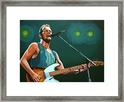 Sting Framed Print by Paul Meijering