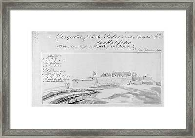 Stirling Castle Framed Print by British Library