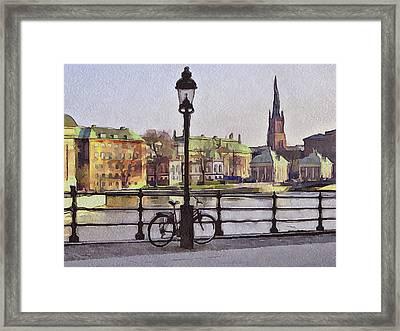 Stockholm 6 Framed Print