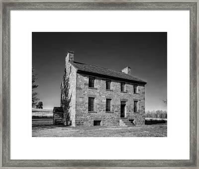 Stone House Tavern - Manassas Virginia Framed Print