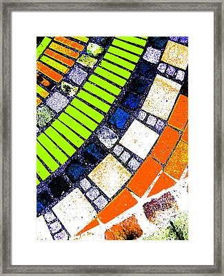 Framed Print featuring the photograph Stone by Nico Bielow