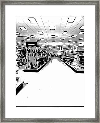 Store Framed Print