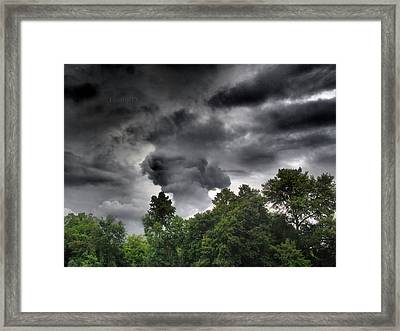 Storm Chasers  Framed Print by Tammy Cantrell