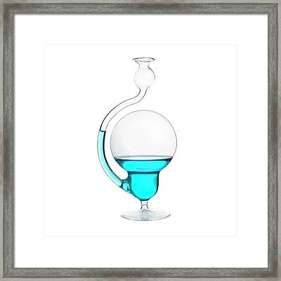 Storm Glass Framed Print by Science Photo Library