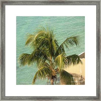 Framed Print featuring the digital art Storm's A Coming by Luther Fine Art