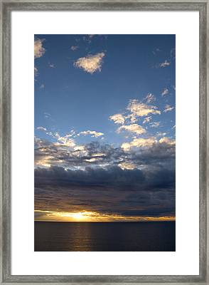 Framed Print featuring the photograph Stormy Sky by Bob Pardue