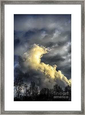 Stormy Sky Framed Print