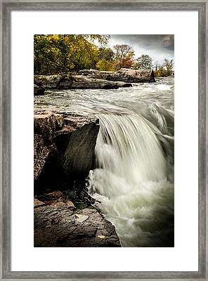 Stormy Waters Framed Print by Douglas Pike