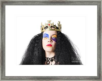 Storybook Queen Framed Print by Jorgo Photography - Wall Art Gallery
