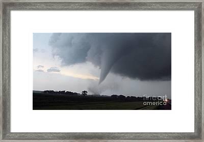Stovepipe Tornado Framed Print
