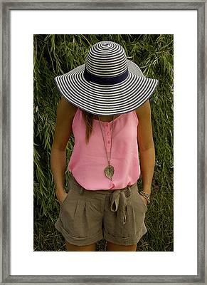 Street Lily Framed Print