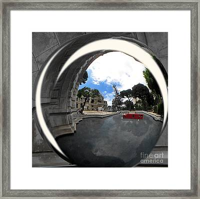Street Monaco Framed Print by Yury Bashkin