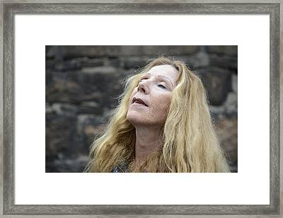 Street People - A Touch Of Humanity 2 Framed Print