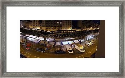Street Scenes - Paris France - 011322 Framed Print by DC Photographer