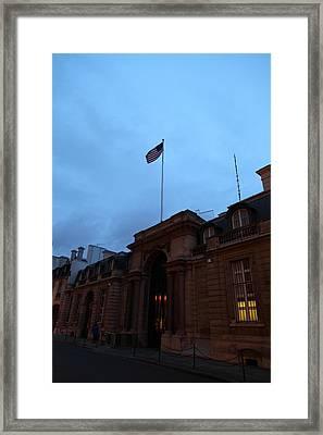 Street Scenes - Paris France - 011340 Framed Print by DC Photographer