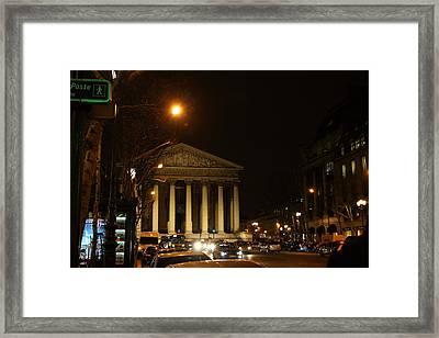 Street Scenes - Paris France - 011346 Framed Print