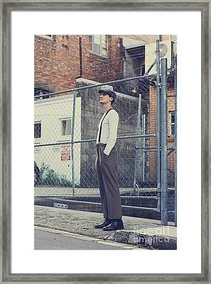 Streets Of Sadness Framed Print by Jorgo Photography - Wall Art Gallery