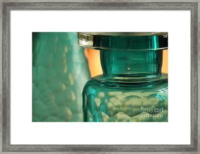 Studies In Glass  Framed Print