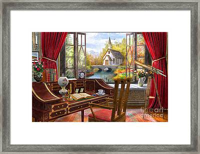 Study View Framed Print